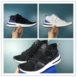 685f901b5 New Arrival luxury ARKYN Ash Pearl Primeknit TPU White Black Women men  Running Shoes For autumn winter sport lightweight walking sneakers