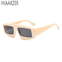 b1576e9067 wholesale Men Womens Trendy Unique Sunglasses Brand Designer Fashion  Rectangle Vintage Sun Glasses For Male Female Eyewear Shades With Box