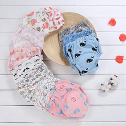 baumwollwindeltuch Rabatt Wiederverwendbare Baby-Säuglingswindel 6 Schichten Baumwolltuch waschbare Windeln Weiche Abdeckungen elastische justierbare Badebekleidungs-Windeln bunt