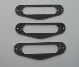 черный окружают Скидка 3x черный 3-слойный гитара одной катушки пикап объемного звучания кольцо для ST размера пикап
