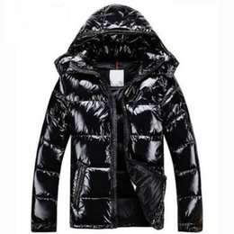 Wholesale Mens Fur Coats Xl - Men Women Classic brand Casual Down Jacket Shiny matte Down Coats Mens Outdoor Fur Collar Warm Feather dress Unisex Winter warm Coat outwear