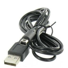 Cabo longo on-line-1.2 metros de comprimento USB DHL Frete Grátis Preto Para Nintendo DSS NDSI XL DS LL Sincronização De Dados Charge Charing Cabo USB Chumbo Carregador 500 pçs / lote