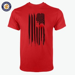 Wholesale Mens Flag T Shirt - Top Quality Cotton USA America Flag men t shirt casual short sleeve breaking bad print mens T-shirt Fashion cool T shirt for me