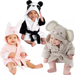 infant bathrobe towels Coupons - baby kids Hooded Animal modeling Cloak Baby  Bathrobe Cartoon infant bath f8b8e475f