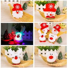 Luces de navidad de coral online-Decoraciones navideñas luz broche cofre capítulo productos básicos adultos niños regalos pequeños regalos al por mayor