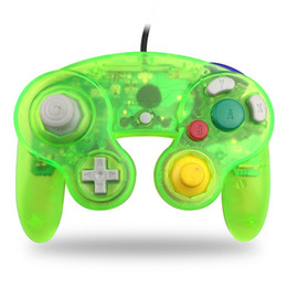 2019 s3 tv telefon Wired Game Cube Controller GameCube für NGC Gaming Konsole Gamepad Wii Analog Stick Vibration Feedback Semitransparente Farbe