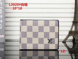 Wholesale korean fashion dress cashmere - 2018 Male luxury wallet Casual Short designer Card holder pocket Fashion Purse wallets for men wallets purse with tags free shipping #0057