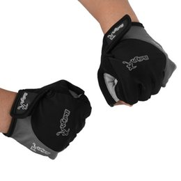 New Cycling Bike Motorcycle Shockproof Half Finger Short Glove Running Accessories Outdoor Sports Runnning Gloves cheap motorcycle gloves short fingers от Поставщики мотоциклетные перчатки короткие пальцы
