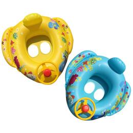 Pools & Wasserspaß 2019 Mode Eltern-kind Aufblasbare Schwimmen Ring Sommer Pool Wasser Spielzeug Mit Sonnenschirm Frosch Schwimmen Ring Baby Kreis Sitz Ring Online Rabatt
