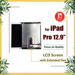 Schermo della scheda madre online-Per iPad Pro Schermo da 12,9 pollici LCD con scheda madre Flex Cable Touch Panel Digitizer Assembly Schermo di ricambio e 3M Colla adesiva