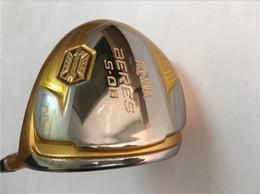 4-звездочный Honma S-06 Driver Honma Golf Driver Хонма Гольф-клубы 9,5 / 10,5 R / S гибкий графитовый вал с крышкой головки от Поставщики звездные покрытия