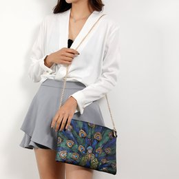 sacos de noite de impressão animal Desconto Mulheres de Couro Do Vintage Imprime Bolsa de Ombro Messenger Bag Noite Retro Feminino Pequeno Mensageiro