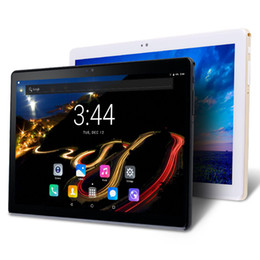 Wholesale Tablet - 2018 New Google Play Android 7.0 OS 10 inch tablet PC Octa Core 4GB RAM 64GB ROM 1280*800 IPS 2.5D Glass Kids Tablets 10 10.1