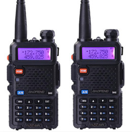 2019 tyt walkie talkie radio 2 Stück Baofeng UV-5R Dual-Band-Walkie-Talkie-Funk-Transceiver Dual-Display-Funkgerät UV5R tragbares Walkie-Talkie-Set