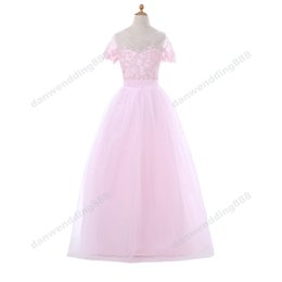 Shop girl dresses size 12 uk girl dresses size 12 free delivery to bright pink tulle jewel applique beads flower girl dresses princess dresses girls pageant dresses custom made size 2 6 8 10 12 14 kf404388 mightylinksfo Gallery