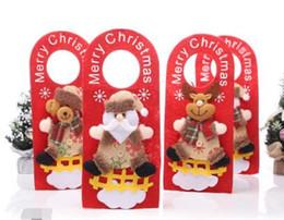 Canada Gros-Hoomall portes suspendues Pendentif Goutte de Bell Décorations extérieures Décoration de Noël pour la maison Nouvel An 2016 Offre
