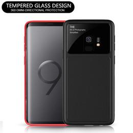lente de revestimento do telefone Desconto Luxo lente de vidro phone case macio tpu scratch resistente capa protetora para iphone x 8 7 6 plus samsung galaxy s9 s8 note8