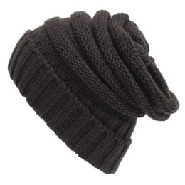 Argentina Knit Slouchy Beanie gorra de gran tamaño de gran tamaño Unisex Slouch supplier thick slouchy beanie Suministro