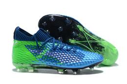 Wholesale Leather Indoor Soccer Shoes - New EvoSPEED NETFIT Future 18.1 FG Orange New EvoSPEED 1.4 SL FG Men Football EvoSPEED SL Football Shoes Soccer