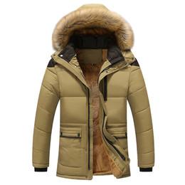 Мужская Осень Зима чистый цвет карман открыть шляпу молнии с капюшоном куртки пальто верхней одежды мужская длинный топ хлопок мужской пальто от