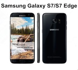 "Wholesale galaxy lte - New Arrival Original Samsung Galaxy S7  Galaxy S7 Edge 5.1"" 12MP Camera 4GB RAM 32GB ROM 4G LTE Refurbished phone"