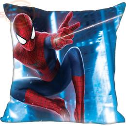 Подушка для пауков онлайн-New Nice Spider Man Pillowcase Wedding Decorative Pillow Case Customize Gift For Pillow Cover