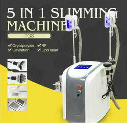 Wholesale Liposuction Laser Machine - Third Generation ! Zeltiq Cryolipolysis Fat Freezing Slimming Machine Coolsculpting Cryotherapy Ultrasound RF Liposuction Lipo Laser Machine