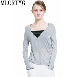 1fbd05888d New 2018 Spring Autumn Knitted Cardigan Women Long Sleeve V-Neck Cardigans  Female Single Button Womens Casual Sweater LX09