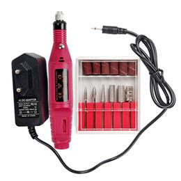 Argentina Mileegirl Power Professional Electric Manicure Machine Tools, Juego de pedicura de pluma de taladro para uñas, Producto de equipo de esmalte D18111302 supplier electric polishing tools Suministro