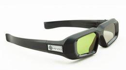 2019 persiana do projetor 3d HindoTech HG35 Obturador Ativo 3D Óculos Universal Obturador Óculos 3d para DLP LINK Projetor desconto persiana do projetor 3d