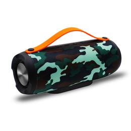 Systèmes de haut-parleurs bluetooth pour la maison en Ligne-MJ Portable Sans Fil Bluetooth Haut-parleurs Stéréo grande puissance système 10W TF FM Radio Musique Subwoofer Colonne Haut-parleurs pour Ordinateur DHL navire