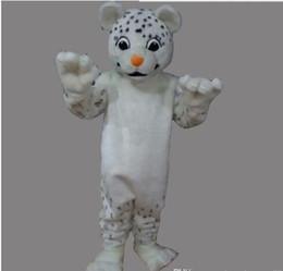 Wholesale cartoon snow leopard - New Style Adult Cute BRAND Cartoon New Professional Snow Leopard Mascot Costume Fancy Dress Hot Sale Party costume Free Ship