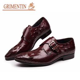 Italian Fashion Hommes Chaussures avec Boucle Noir Marron Designer pour Mariage Flats Bureau d'affaires 2E4GD