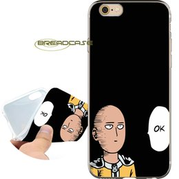 Estuches de espacio Coque Anime One Punch Man para iPhone 10 X 7 8 6S 6 Plus 5S 5 SE 5C 4S 4 iPod Touch 6 5 Funda de silicona TPU clara y suave. desde fabricantes