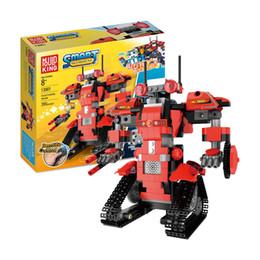 Elektrische spielzeug online-Heißer Verkauf Roboter Montage Spielzeug Technologie Serie elektrische Fernbedienung Maschine Gruppenschaltung elektronische Bausteine Großhandel