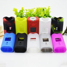 Deutschland Bunte Silikon-Gummi-Hülsen-schützende Anti-Kratzer-Hüllen-Haut-Kasten-Tasche für SXmini SX MINI G-Klasse VAPE MOD Hohe Qualität cheap colorful rubber bags Versorgung