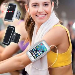 Canada Top Noir Brassards Étanches Gym Sports Run Pour Xiaomi Redmi Note 5 s2 5 plus 4x 5a Mi 6X mix 2s a1 Arm Band 2 3 Téléphone Sac Cas cheap black armband case Offre