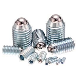 En gros 10pcs / Lots 304 en acier inoxydable Spring Ball Plunger Machine à billes en acier à vis - Taille M3 ~ M25 pour vous choisissez ? partir de fabricateur