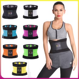 5fa1b771f3588 Spandex Xtreme Power Belt High Elastic Fitness Cinturón caliente que  adelgaza a Thermo Shaper Waist Trainer Cincher For Workout Women