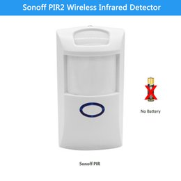 Wholesale Infrared Sensor Wireless Alarm - Sonoff PIR2 Wireless Dual Infrared detector Motion Sensor smart Home Automation Security Alarm System for Alexa Google Home