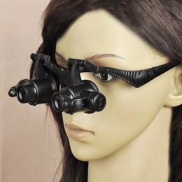 Portant loupe LED lampe lunettes bijoux une loupe pour regarder la réparation de montres anciennes 4 ensembles de lentilles ? partir de fabricateur