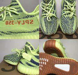 best service fd211 91e2a Adidas Originals superstar color fuerte aceite de sésamo amarillo hielo  36-46 350 v2 zapatos de diseñador color azul Sply negro rojo BY9612 350  hombres y ...