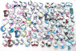 Wholesale kt jewelry - Wholesale and retail 50 pcs New Lot multicolor KT blend series Metal Charms Jewelry Making Pendants