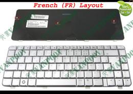 computadoras portátiles epc Rebajas Nuevo portátil Teclados para portátiles HP Pavilion dv4 dv4t dv4-1000 dv4-1200 dv4-1300 dv4-2000 Plata Francés FR AZERTY Clavier - NSK-H590F
