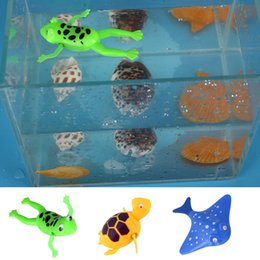 Wholesale Fishing Plastic Frogs - Classic Frog Turtle Devil Fish Early Educational Toys Tools Baby Gifts Animal