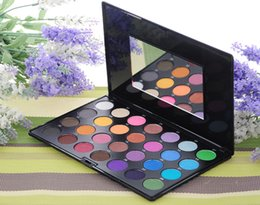 Wholesale popular eye shadow - Newest Fashion Maycheer 28 color pearlescent eye shadow disk multicolor eye shadow disk popular 2 models eye shadow box makeup