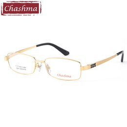титановые дизайнерские очки Скидка Chashma  Designer New Style Pure Titanium Fashion Eyeglasses Light Spectacle Quality Trend Glasses Optical Eyewear Men