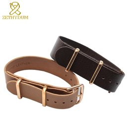 Wholesale thin leather bracelets - Sheepskin long bracelet 18mm 20mm mens Genuine leather wristwatches band thin watch watch strap accessories pin clasp