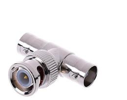 koaxialkabel cctv kamera Rabatt BNC-Verteiler (10 Stück) BNC-Stecker auf BNC-Doppelstecker (T-Form), für CCTV