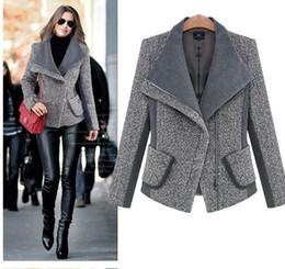 Wholesale flare coats - casaco feminino winter women coat abrigos mujer inverno 2016 sobretudo poncho feminino manteau femme female coats wool blends
